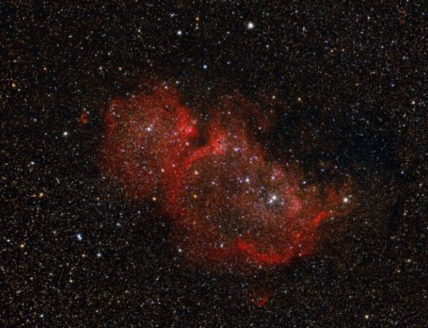 IC 1848 in der Cassiopeia